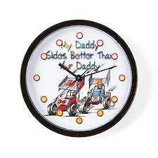 Unique Car racing Wall Clock