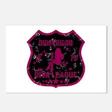 Didgeridoo Diva League Postcards (Package of 8)