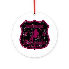 Didgeridoo Diva League Ornament (Round)