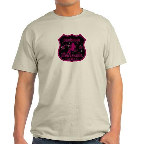 Didgeridoo Diva League Light T-Shirt