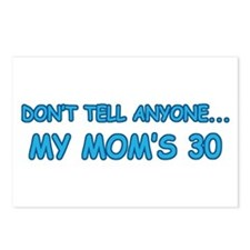 Surprise Mom's 30 Postcards (Package of 8)