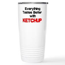 Better With Ketchup Travel Mug