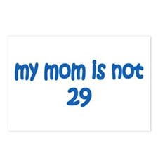 Mom Isn't 29 Postcards (Package of 8)