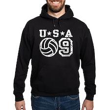 USA Volleyball 09 Hoodie