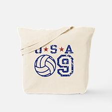 USA Volleyball 09 Tote Bag