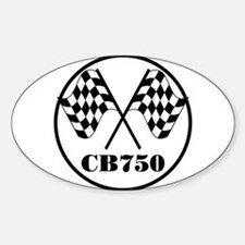CB750 Oval Decal