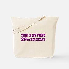 29th Birthday Tote Bag
