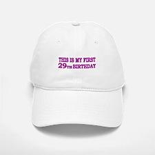 29th Birthday Baseball Baseball Cap
