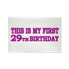 29th Birthday Rectangle Magnet
