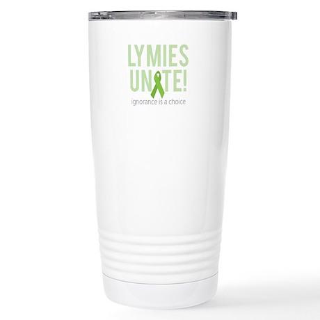 Lymies Unite! Stainless Steel Travel Mug