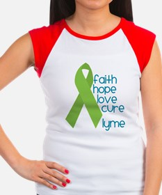 Lyme Disease Hope 4 Cure Women's Cap Sleeve Tshirt