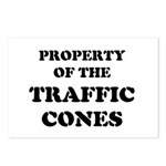 Traffic Cones Property. Postcards (Package of 8)