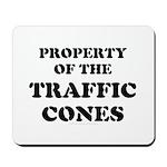 Traffic Cones Property. Mousepad