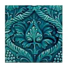 Art Nouveau Wall Tile or Coaster
