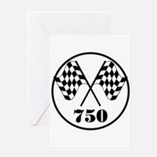 750 Greeting Card