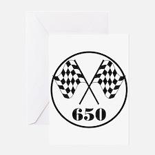 650 Greeting Card