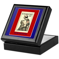 Red Cross Keepsake Box