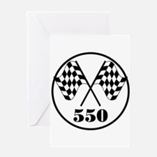 550 Greeting Card