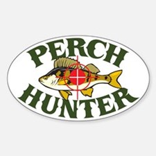 Perch Hunter Oval Decal