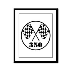 350 Framed Panel Print