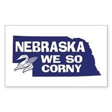 Nebraska Rectangle Decal