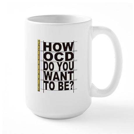 How OCD Large Mug