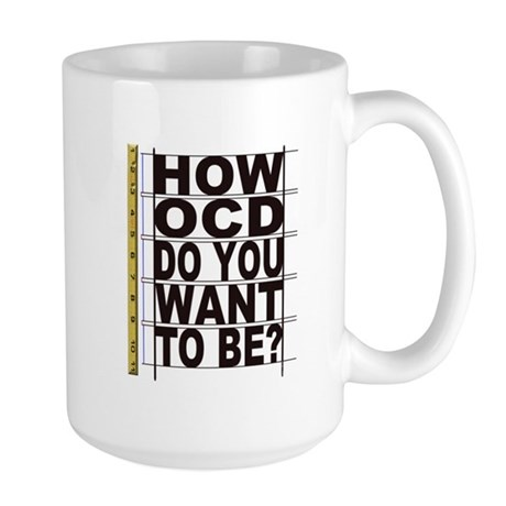 How OCD Large Mug