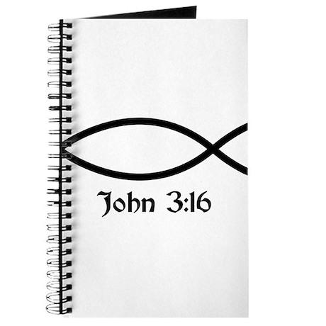 John 3:16 Fish Journal