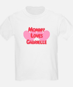 Mommy Loves Gabrielle T-Shirt