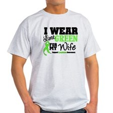 IWearLimeGreen Wife T-Shirt