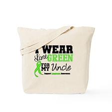 IWearLimeGreen Uncle Tote Bag