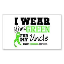 IWearLimeGreen Uncle Rectangle Decal