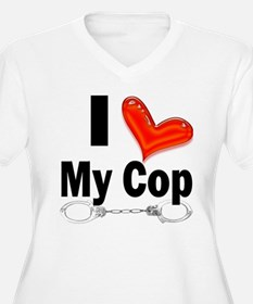 I love My Cop T-Shirt
