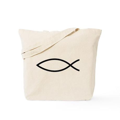 Christian Fish Tote Bag