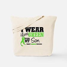 IWearLimeGreen Son Tote Bag