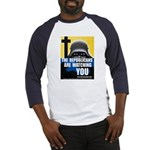 The GOP Is Watching! Baseball Jersey