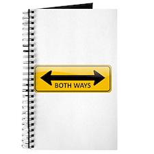 Both Ways Sign Journal
