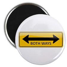 Both Ways Sign Magnet