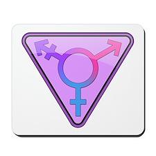 Transgender Symbol Mousepad