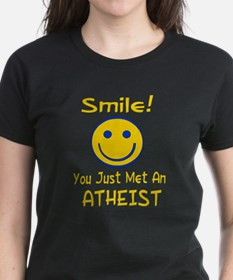 Atheist Smiley Face Tee