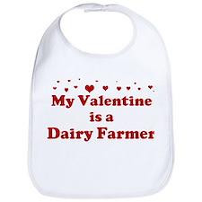 Valentine: Dairy Farmer Bib