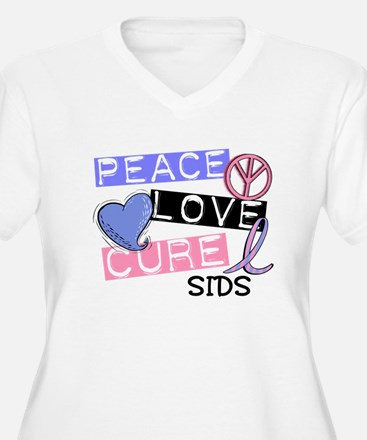 PEACE LOVE CURE SIDS T-Shirt