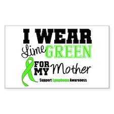 IWearLimeGreen Mother Rectangle Sticker 50 pk)