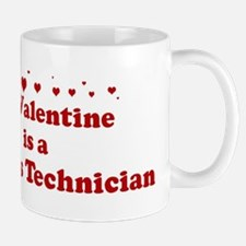 Valentine: Dialysis Technicia Mug
