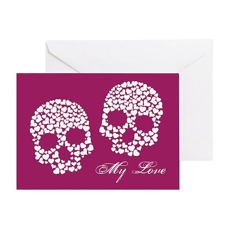 Love to the Bone Greeting Card