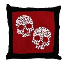 Love to the Bone Throw Pillow
