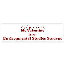 Valentine: Environmental Stud Bumper Bumper Sticker