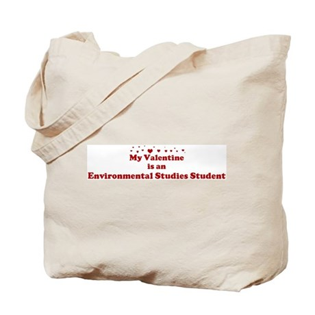 Valentine: Environmental Stud Tote Bag