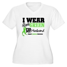 IWearLimeGreen Husband T-Shirt