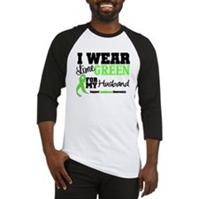 IWearLimeGreen Husband Baseball Jersey